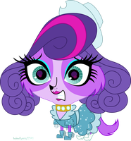 Zoe at a Pagent by butterflypinky12345