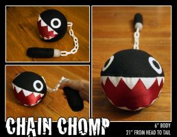 Chain Chomp 2.0 by nobleknightkaeru