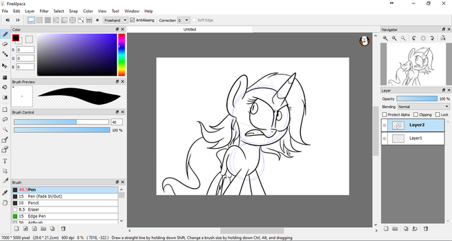 The way I draw.. by khushi1428