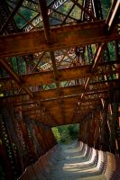 Rusty Bridge by snakstock