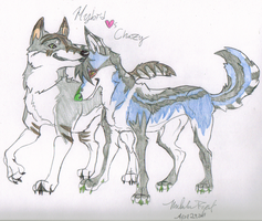 Hybrid and Chazy by Miahii