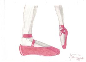 Ballet Shoes by Chibi-chan-mimo