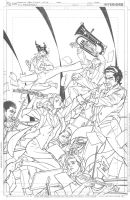 Freelancers issue 4 Cover Pencils by DrewEdwardJohnson