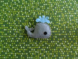 Whale Plush by JustPeari