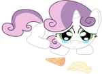 Crying Sweetie Belle by Bonaldo-Kun