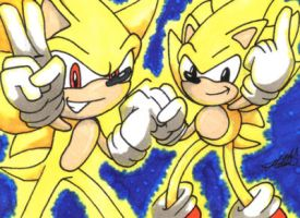 Sonic Generations: Super Sonic by Metal-CosxArt