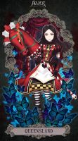 Alice Madness Returns - QUEEN SLAND by Minari23