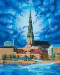 Around-the-clock Riga by dualtest