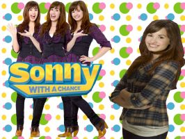 Sonny With A Chance wallpaper2 by VampireGirl1904