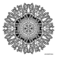 Mandala 55 by Mandala-Jim