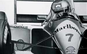 Michael Andretti F1 Up close by Tellez-ART