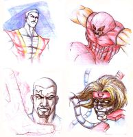 Marvel Characters1 by bungot