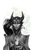 Maleficent by Ritri