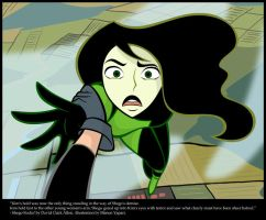 Kim Saves Shego by manony