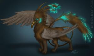 Griffin... by Filiana
