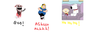 Betrayus Scares Chris Griffin. by Smurfette123
