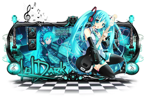 Miku Hatsune Sign by Cristiano-LoLDark