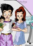 Goten's Family by Iziume89