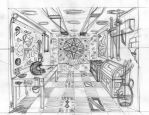 The Room of The Anghellon by kamlo