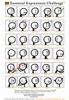 Expressions Meme With... a Stick Figure. Huh. by Number9Robotic