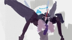 Starscream TFP by Namecchan