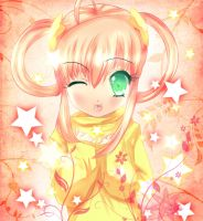 pink star by CamiIIe