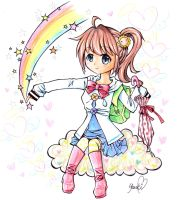 Rainbow Wish by Colorful--Melody