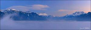 Stratus over Geneva Lake by samuelbitton