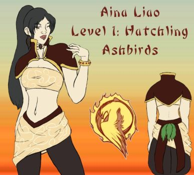 Aina Level 1 Ref Sheet by LeprousArmadillo