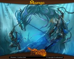 Moonga - Indomitable Leviathan by moonga