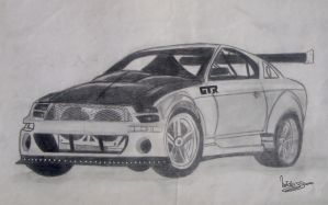 Ford Mustang - GTR by natiwar02