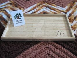 Woodburned tray 2 by tiscaitlin