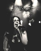Amy Lee from Evanescence by catherine2207