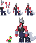 Pony Sprite of  May 2015: Tirek by akumath