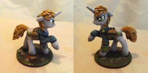 Little Pip Sculpture by DragonAtaxia