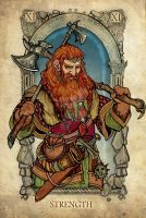 Tarot: Strength by SceithAilm