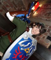 Sword and Shield at the Ready by DreamsOverRealityCos