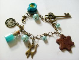 Alice in wonderland bracelet by NimfVirTi