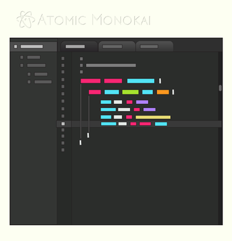 Atomic Monokai by BStevenson