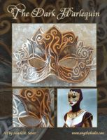 The Dark Hellequin Mask by Angelic-Artisan