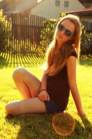 My sister and the sunshine by MilanVopalensky