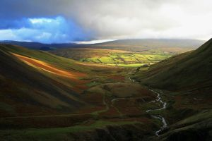 Cautley Spout View by CumbriaCam