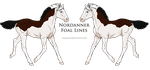 A1044 Foal Design by Clover-Valley-Stud