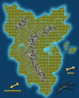 The Lost Continent of Azendi by BrandonSPilcher