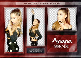 PACK PNG 190|ARIANA GRANDE by MAGIC-PNGS