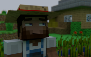 A Minecraft Farmer by SirSymbolTable