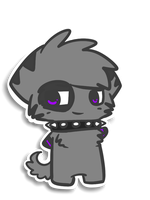 Sticker series - Chester by Caramelcat123