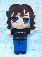 James May plushie by VioletLunchell