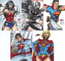 SKETCH CARDS DC New 52 MoD 2011 5 by jasinmartin