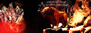 Hellhound Facebook-Cover by Flipslide